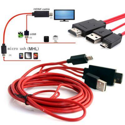 Hướng dẫn sử dụng Dây HDMI MHL kết nối điện thoại với Tivi
