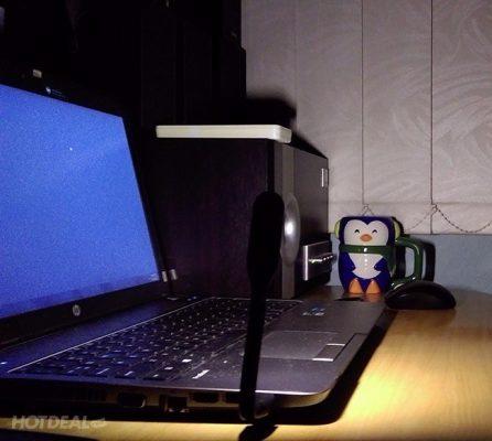 Đèn Led usb sử dụng laptop học bài