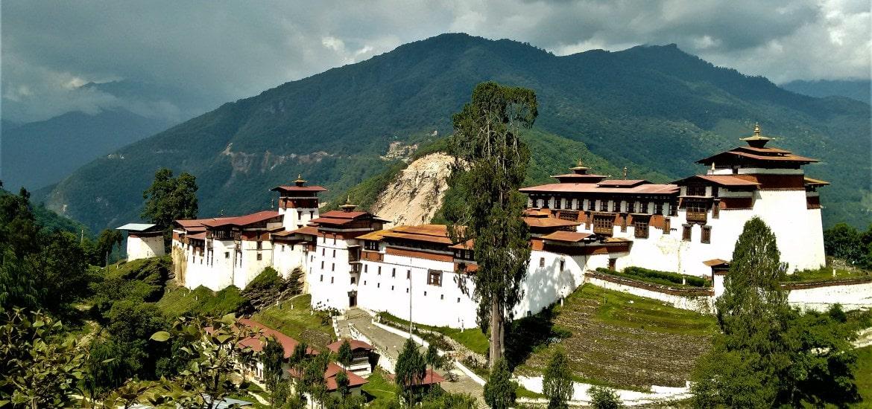 Tu Viện TongSa Bhutan