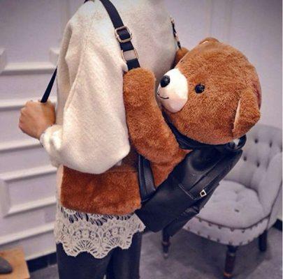 balo gấu bông xinh xắn