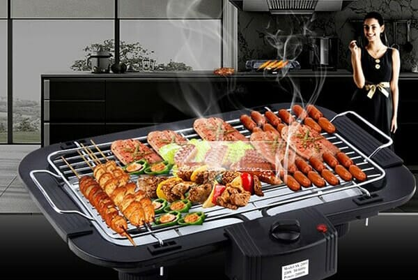 Vĩ nướng điện không khói BBQ