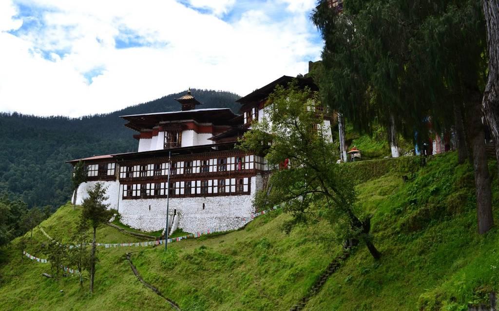 Tu Viện Cheri Bhutan