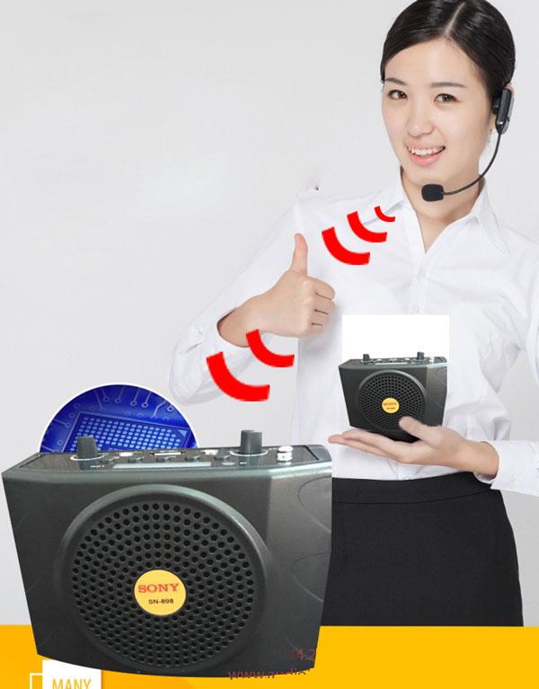 Máy trợ giảng sony không dây