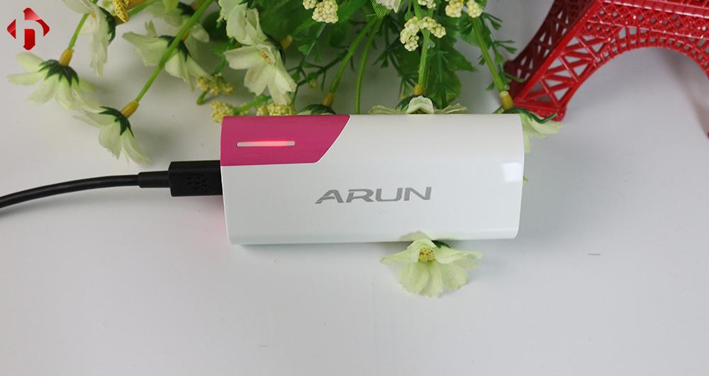 Sạc dự phòng Arun 5600 Mah giá rẻ tpchm