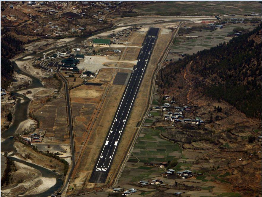 Sân bay Paro Bhutan