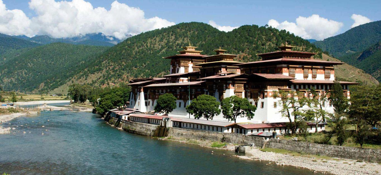 Tu Viện Punakha Bhutan