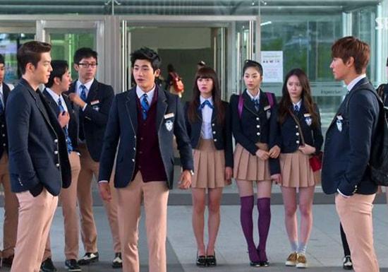 Đồng phục phim Hàn Quốc The Heirs