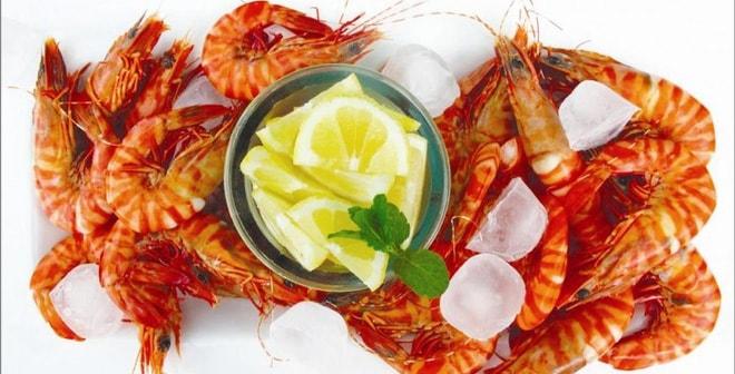 Hải sản và vitamin c