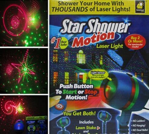 Đèn laser trang trí giáng sinh mẫu mới