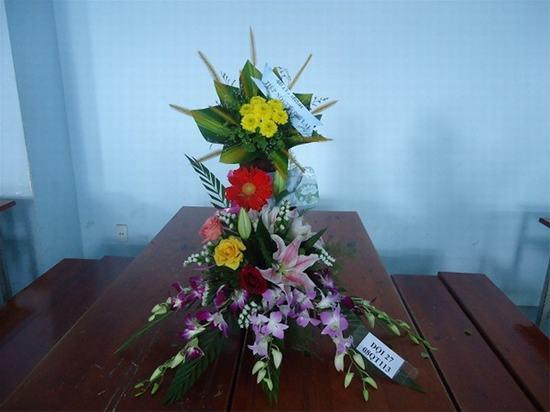 Cắm hoa 20/11 đạt giải đẹp nhất