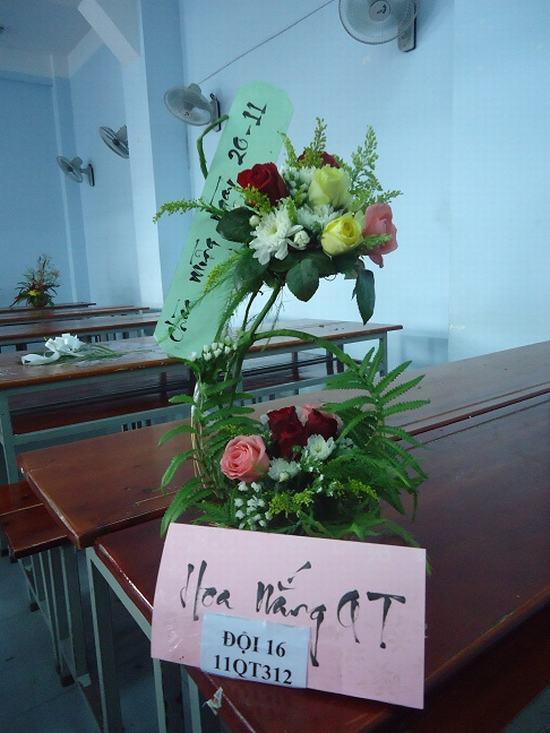 Cắm hoa 20/11 ý nghĩa nhất