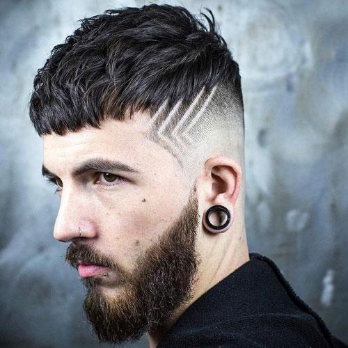 kẻ vạch tóc nam đẹp nhất