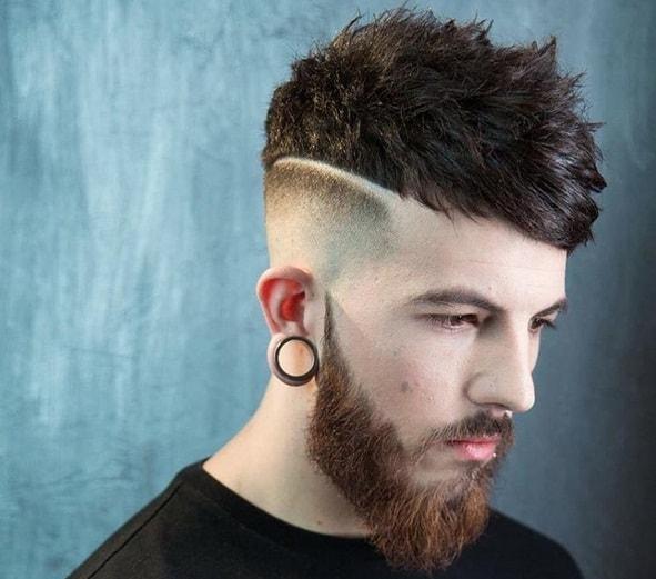kẻ vạch tóc nam đẹp