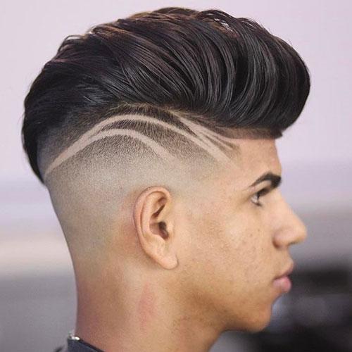 những kiểu kẻ tóc đẹp
