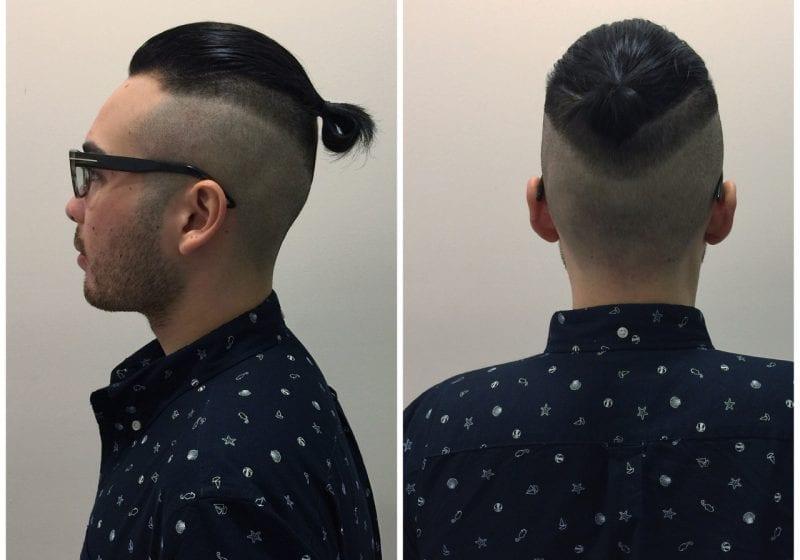 tóc cho nam mặt tròn