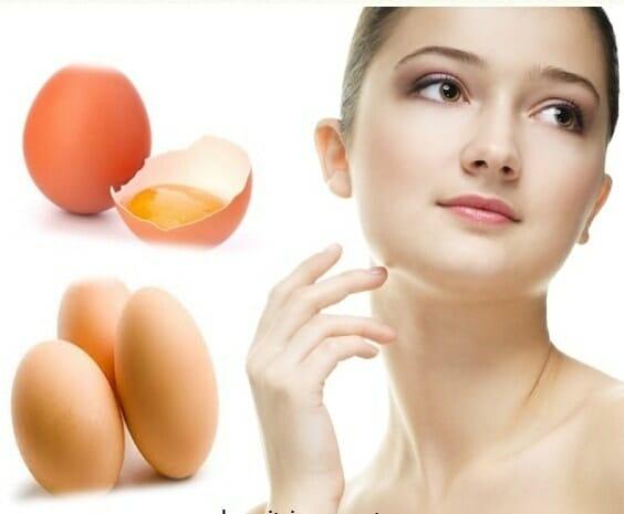 Đắp mặt nạ lòng trắng trứng gà như thế nào?