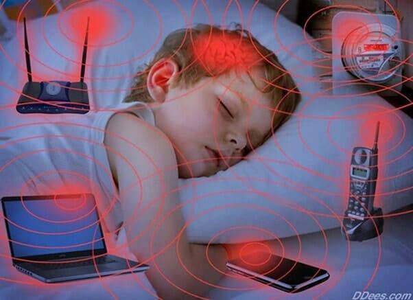 Sóng wifi ngụy hại đến trẻ em