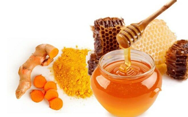 cách uống nghệ tươi với mật ong