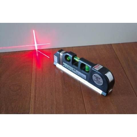 Thước đo laser canh mực nước