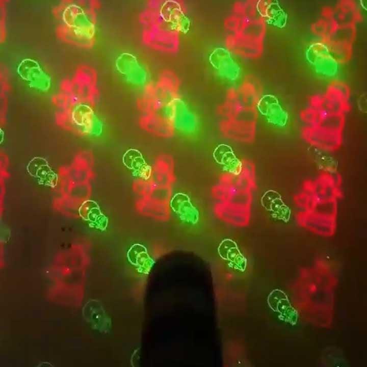 đèn chiếu laser star shower