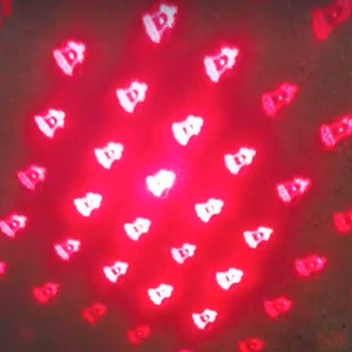 Đèn chiếu laze óng nhòm