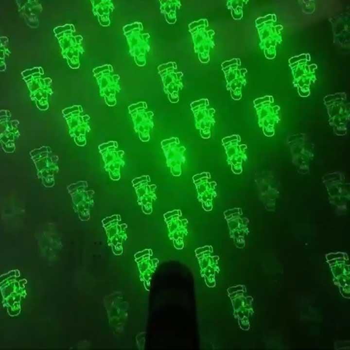 đèn laser tết