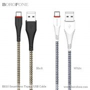 BX10 BOROFONE-MART SYNCC USB CABLE TYPE C