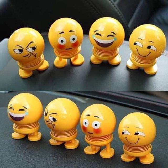 Thú nhún lò xo emoji cảm xúc mặt cười