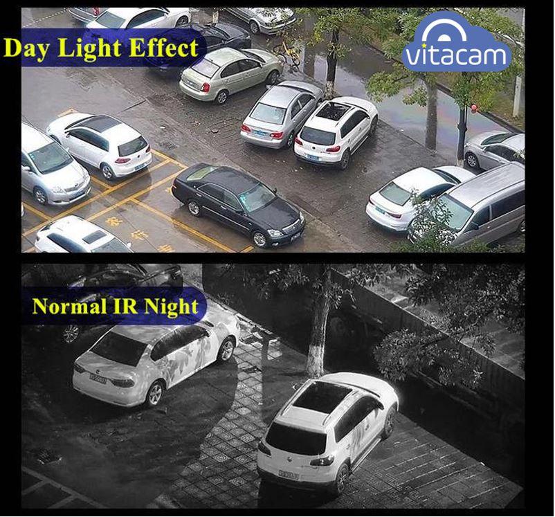 Hình ảnh camera Vitacam DZ1080 ngày đêm