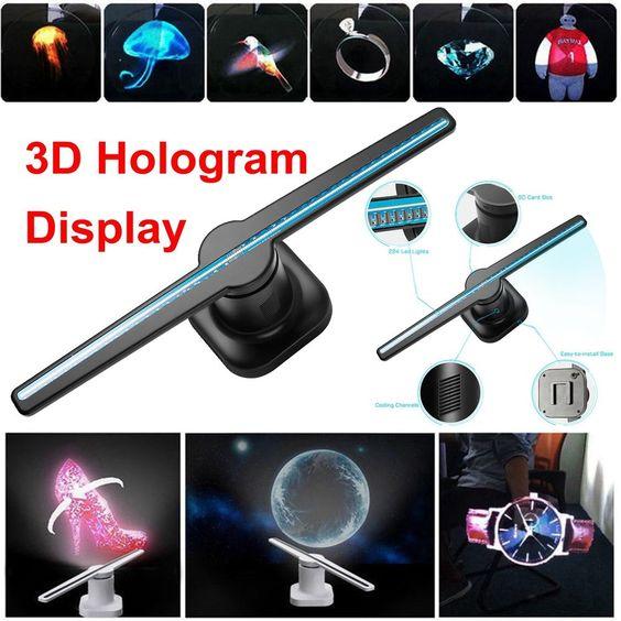 Quạt 3d hologram fan tạo hình 3D