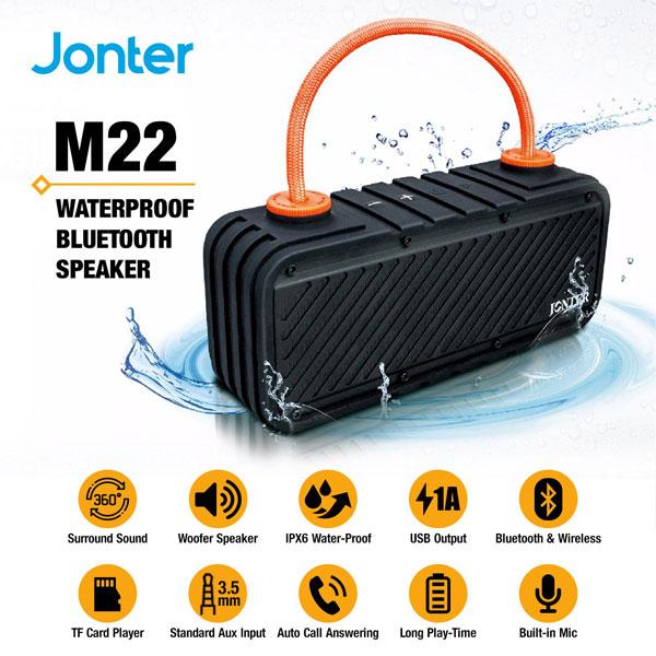 Loa chống nước Jonter M22