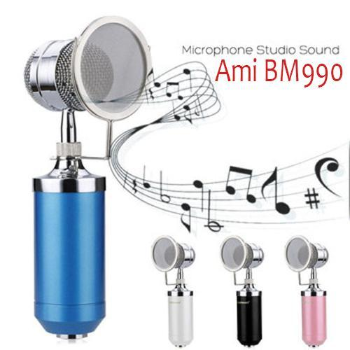 Mic livestream AMI BM 990