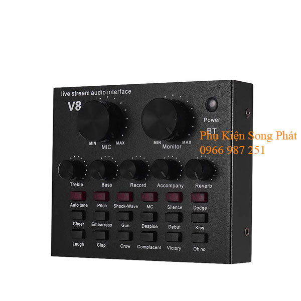 Sound Card ZANSONG V8