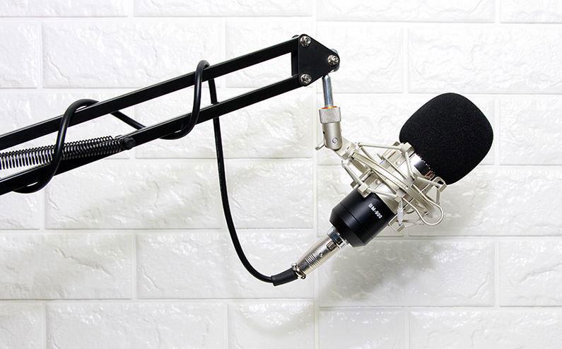 Micro thu âm BM 900