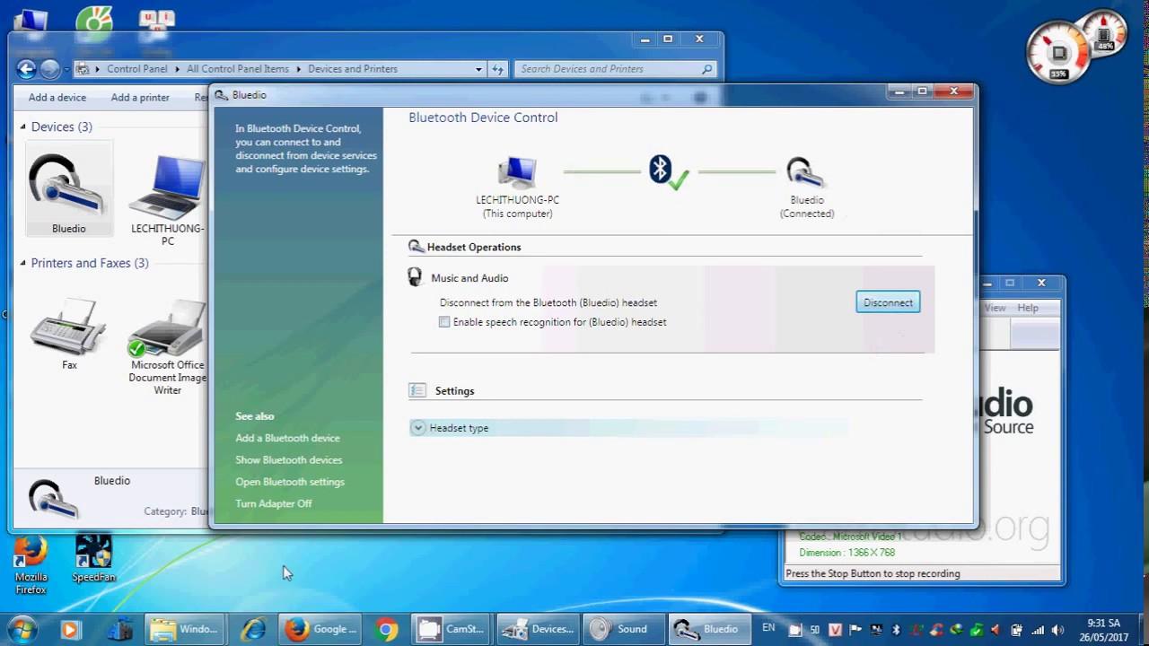 hướng dẫn kết nối tai nghe bluetooth với laptop win 7