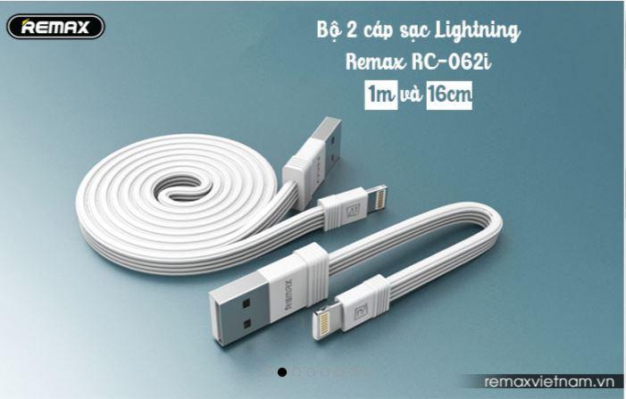Combo Lightning Remax RC 062i