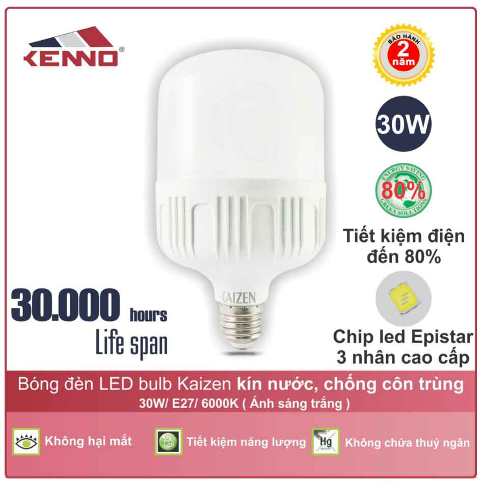 Đèn led buld 30W Kenno