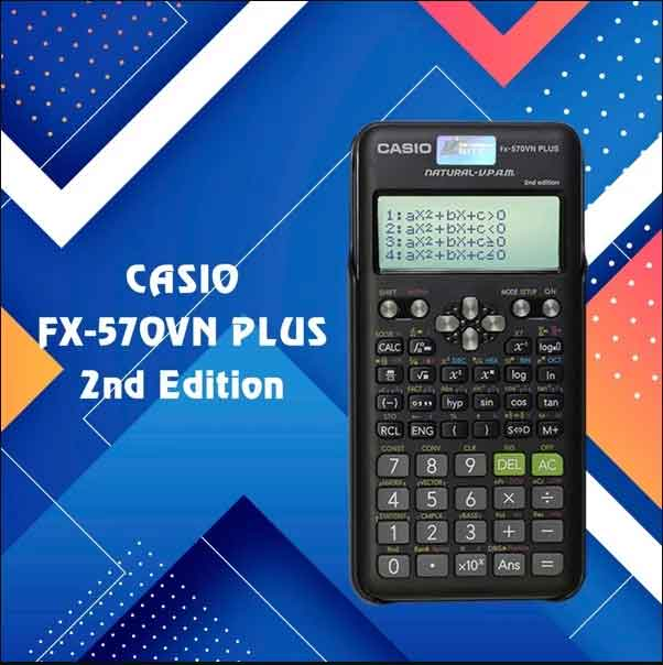 Casio FX 570VN Plus 2nd Editon