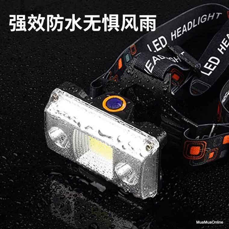 Đèn Pin Đội Đầu Chống Nước LL-6653B