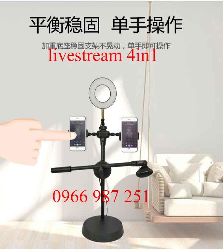 Bộ phát livestream 4in1