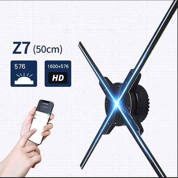3D LED FAN Z7