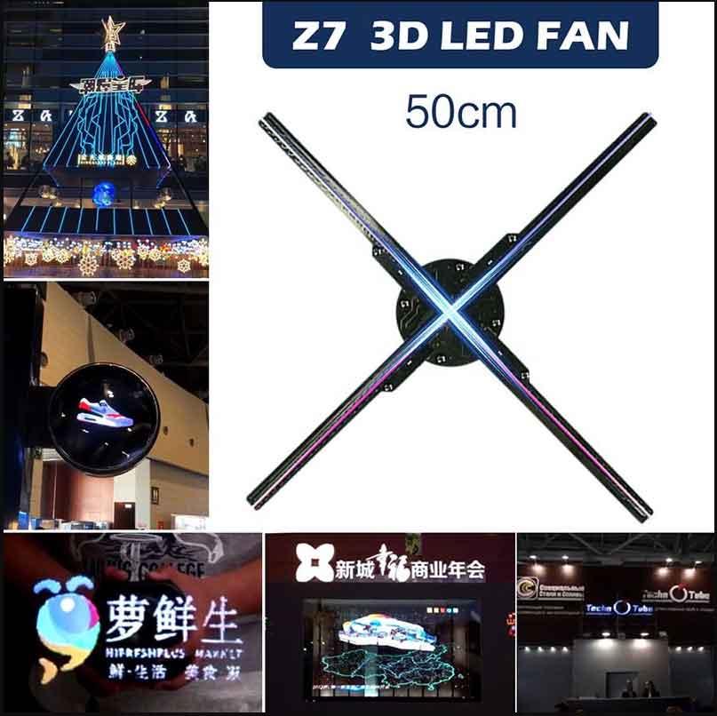 Quạt chiếu hình 3D Z7