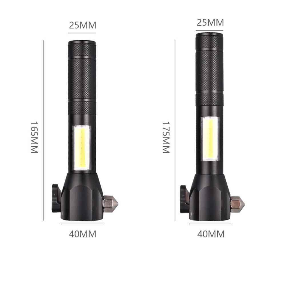 Kích Thước đèn Pin T6-28