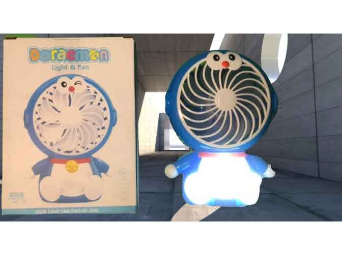 Quạt điện hình thú mini Doreamon SY801 2in1