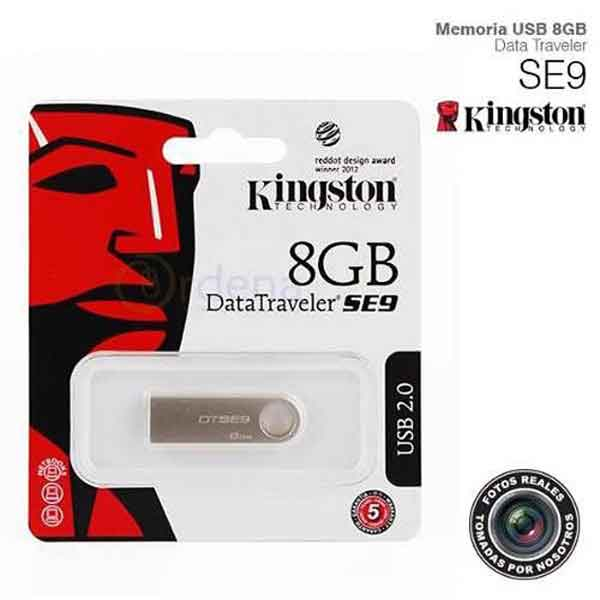 USB Kingston DataTraveler SE9 Nano 8GB
