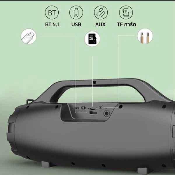 Loa Bluetooth Kimiso S3 hát Karaoke