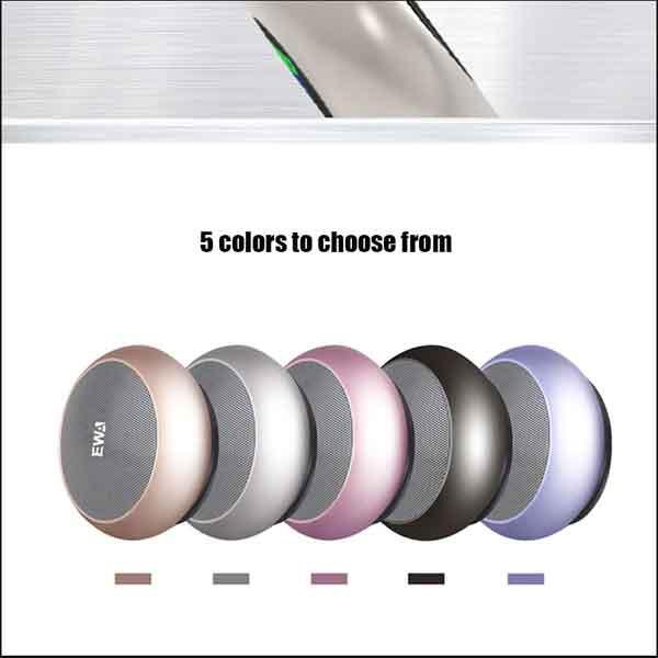 Loa EWA A110 có nhiều màu chọn lựa