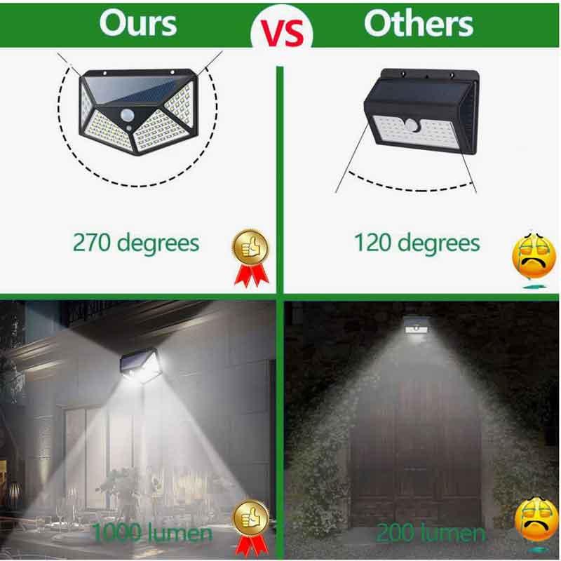 Bóng đèn tự sáng khi có người 100 bóng