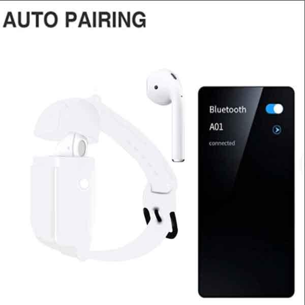 Tai nghe Bluetooth Airpods A01 kết nối dễ dáng