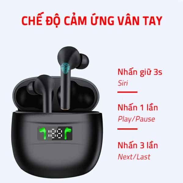 Hướng dẫn sự dụng tai nghe không dây TWS J3 Pro